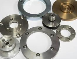 CNC-Drehteile aus Sonderwerkstoffen
